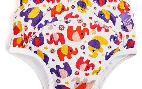 BAMBINO MIO Učící plenka 2-3 roky – Pink Elephant