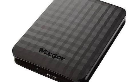 """Externí pevný disk 2,5"""" Maxtor M3 Portable 2TB (STSHX-M201TCBM) černý + Doprava zdarma"""