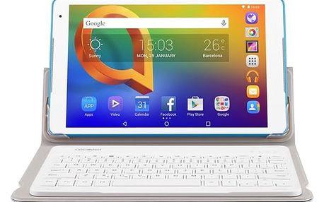 """Dotykový tablet ALCATEL A3 10"""" Wi-Fi 8079 + klávesnice (8079-2DALE15-3) bílý + DOPRAVA ZDARMA"""