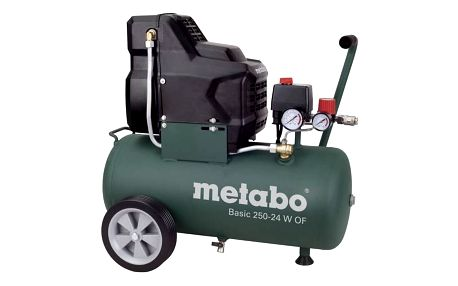 Kompresor Metabo Basic 250-24 W OF + Doprava zdarma
