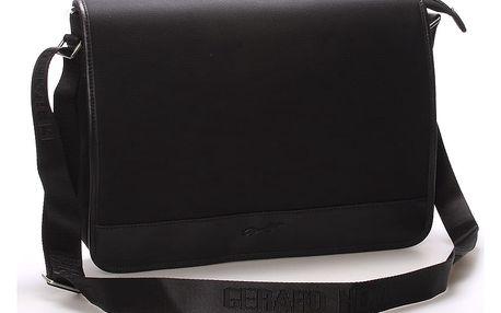 Pánská elegantní taška přes rameno černá - Gerard Henon Laurent černá