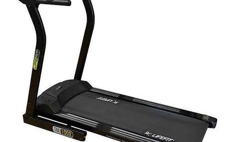 Běžecký pás LIFEFIT TM-1002 + Závěsný posilovací systém Rulyt nastavitelné - černá/červená v hodnotě 390 KčPosilovač břišních svalů Lifefit AB EFFECT - zelená (zdarma) + Doprava zdarma