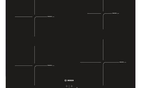 Indukční varná deska Bosch PUE611BB1E černá + DOPRAVA ZDARMA