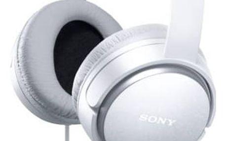 Sluchátka Sony MDRXD150W.AE (MDRXD150W.AE) bílá + Doprava zdarma