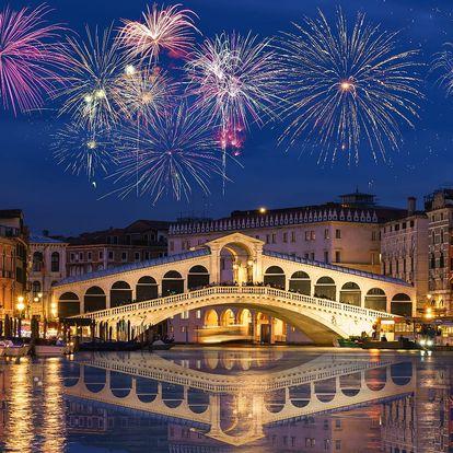 Silvestrovský zájezd do Benátek a Verony na 1 noc