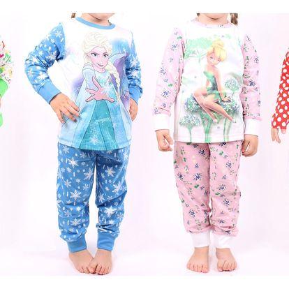 Dětská pyžamka s potiskem oblíbených hrdinů