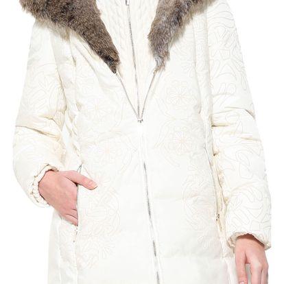 Desigual smetanová zimní bunda Maca