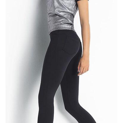 Dámské legíny Trendy Legs Plush Paola Barva: černá, Velikost: M