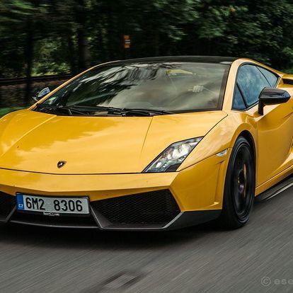 Jízda v Lamborghini Gallardo Praha, Brno, Ostrava, Olomouc