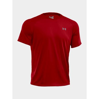 Tričko Under Armour Tech SS Tee Červená