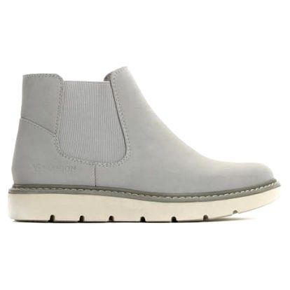 Dámské šedé kotníkové boty Beau 055