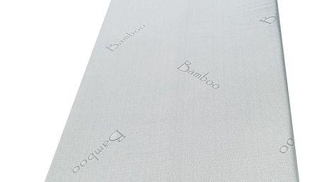 Viscopur Matracová podložka Bamboo, 120 x 200 cm