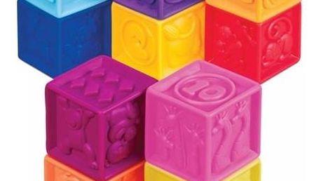 Kostky B-toys One Two Squeeze + Doprava zdarma