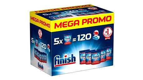 FINISH Allin1 Max 120ks Mega box + Doprava zdarma