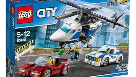 Stavebnice LEGO® CITY POLICE 60138 Honička ve vysoké rychlosti + Doprava zdarma