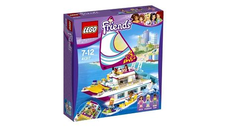 Stavebnice LEGO® FRIENDS 41317 Katamarán Sunshine + Doprava zdarma