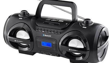 Radiopřijímač s CD GoGEN CDM425SUBT černý/stříbrný + Doprava zdarma