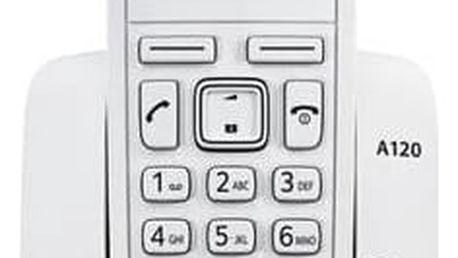 Domácí telefon Siemens Gigaset A120 (S30852-H2401-R602) bílý + Doprava zdarma
