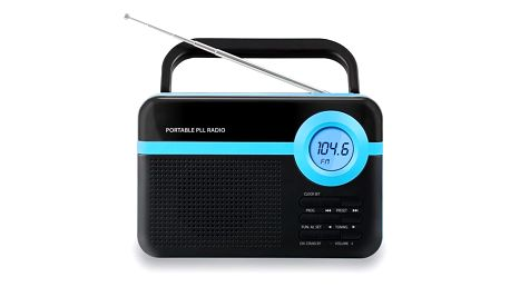 Přenosné digitální rádio Trevi MpMan RPS 750/BL