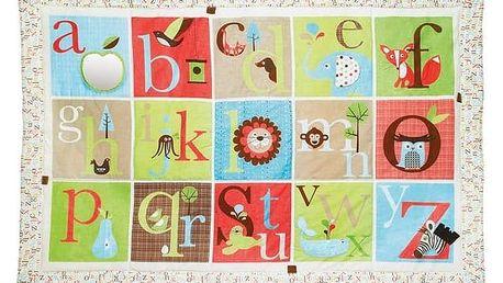 Hrací deka SKIPHOP ABC Zoo velká bílá/červená/modrá/zelená/hnědá + Doprava zdarma