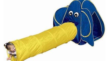 Stan dětský Bino prolézací - slon + Doprava zdarma