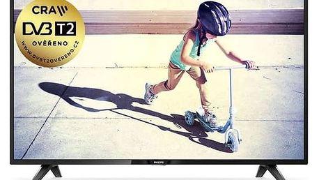 Televize Philips 43PFS4112/12 černá + Doprava zdarma