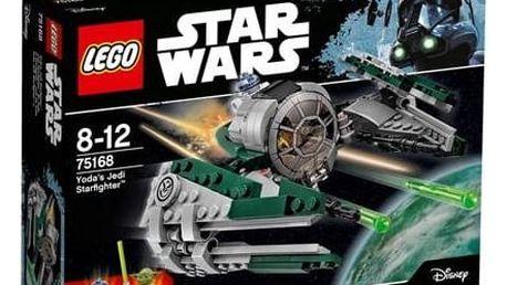 Stavebnice LEGO® STAR WARS TM 75168 Yodova jediská stíhačka + Doprava zdarma