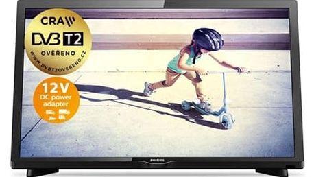 Televize Philips 22PFS4232/12 černá + DOPRAVA ZDARMA