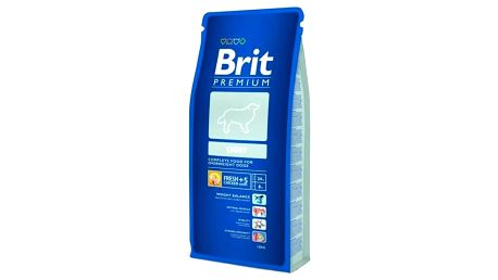 Granule Brit Premium Dog Light 15 kg + Doprava zdarma