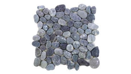 Divero 968 Mozaika říční oblázky - šedá 1 m2