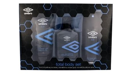 UMBRO Ice dárková kazeta pro muže toaletní voda 75 ml + sprchový gel 150 ml + deodorant 150 ml