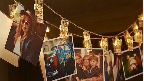 Svíticí LED kolíčky na fotografie - 3 barvy