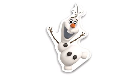 Herding Polštářek Ledové království Frozen Olaf, 40 x 30 cm