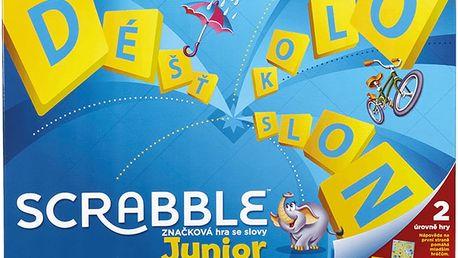 MATTEL Scrabble Junior CZ