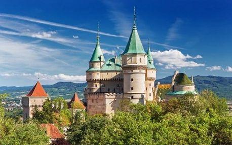 3, 4 nebo 6denní pobyt pro 1 či 2 s wellness a polopenzí v hotelu Regia v Bojnicích