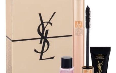 Yves Saint Laurent Volume Effet Faux Cils dárková kazeta pro ženy řasenka Volume Effet Faux Cils 7,5 ml + odličovací přípravek Top Secrets Exp.Makeup Remover 8 ml + pleťová péče Top Secrets Instant Moisture Glow 5 ml