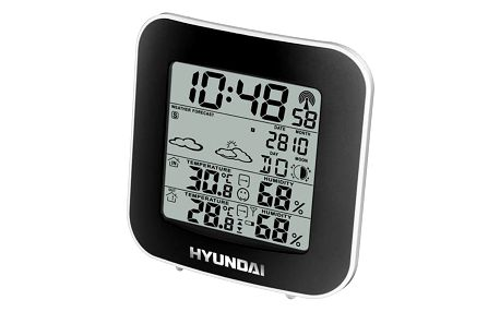 Meteorologická stanice Hyundai WS 8236 černá/stříbrná