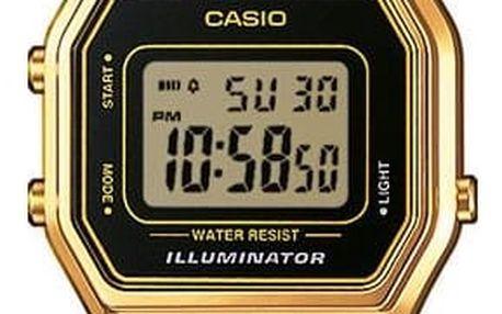 Casio LA 680WEGB-1A + nůž, pojištění hodinek, doprava ZDARMA, záruka 3 roky