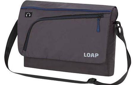Taška přes rameno Loap GOTSA black/blue + Doprava zdarma