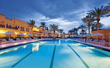 Hotel Al Hamra Village, Dubaj, Spojené arabské emiráty, letecky, polopenze