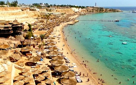 Egypt, Sharm El Sheikh, letecky na 8 dní