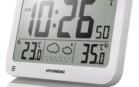 Meteorologická stanice Hyundai WS 2331 stříbrná + Doprava zdarma