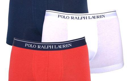 3PACK pánské boxerky Ralph Lauren tricolor M