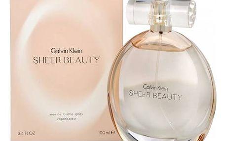 Calvin Klein Sheer Beauty toaletní voda dámská 100 ml + Doprava zdarma