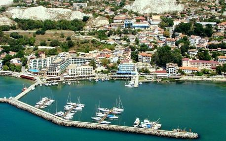 Bulharsko, Balčik, letecky na 8 dní