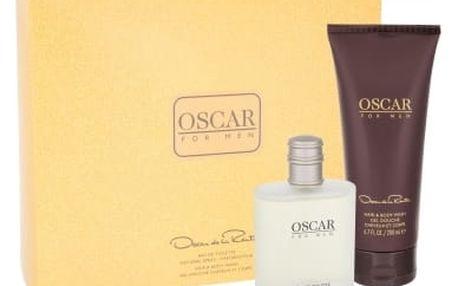 Oscar de la Renta Oscar For Men dárková kazeta pro muže toaletní voda 100 ml + sprchový gel 200 ml