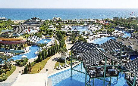 Hotel Limak Lara De Luxe Resort, Turecká riviéra, Turecko, letecky, ultra all inclusive