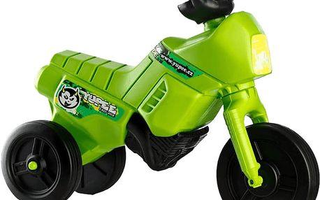Yupee Odrážedlo Enduro zelené malé