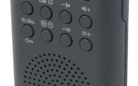 Radiopřijímač MUSE M-02R černý + Doprava zdarma
