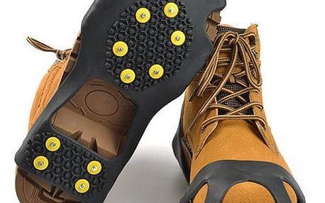 Univerzální protiskluzová pomůcka na boty